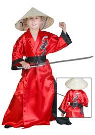 Ninja Halloween Costume Kids Kids Dragon Samurai Costume Walmart