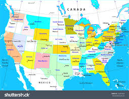 World Map With States by Physical Map Usa And Canada At Map Of Usa And Canada With States