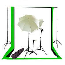 cheap umbrella lighting kit newcb bwg triplekit