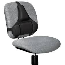 Back Support Pillow For Office Chair Fellowes 8037601 Professional Series Back Support Memory Foam