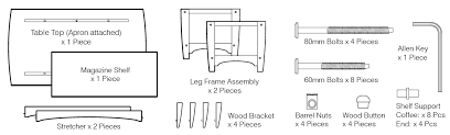 Mainstays 3 Shelf Bookcase Instructions How To Assemble Evening Table How To Assemble How To Assemble