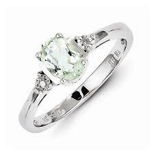 green amethyst engagement ring green amethyst engagement ring sterling silver pale ring
