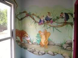 peinture mur chambre bebe peinture mur chambre bebe dcoration murale dans une
