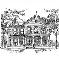 drawing a house 1 clipart etc january 29 william mckinley fcit