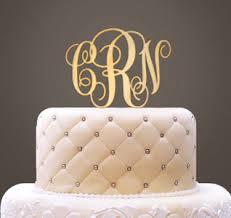 cake topper monogram monogram cake topper monogram letter cake topper