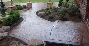 stamped concrete photos designs and how to the concrete network