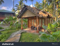 Beautiful Cottage Beautiful Cottages Havelock Island Andaman Nicobar Stock Photo