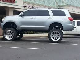toyota sequoia lifted pics bad lifted toyota sequoia cars trucks and suvs