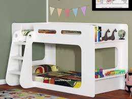 White Shortie Bunk Beds Childrens Beds Sleepland Beds - Kids bunk beds uk