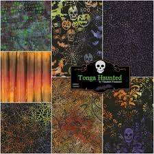 tonga haunted batik fat quarter bundle 7 pieces timeless
