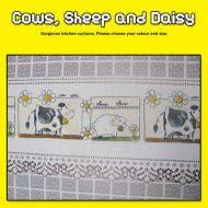 Cow Print Kitchen Curtains Country Curtains Country Style Curtains Sheep Cafe Curtains