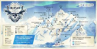Alaska On A Map by State Of The Game Alaska Steep Official Site On Ps4 Xbox One