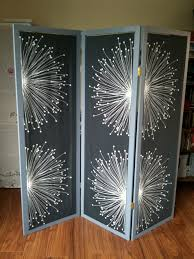 screen room divider remodelaholic 29 creative diy room dividers for open space plans