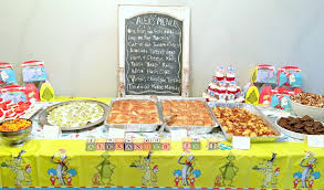 dr seuss party food how to throw a dr seuss themed birthday party