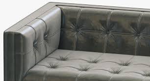 furniture restoration hardware leather sofa leather modular
