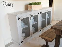 Free Woodworking Plans Kitchen Cabinets by Diy Sideboard Shanty 2 Chic
