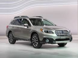subaru station wagon interior 2015 subaru outback video new york auto show