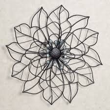 Wall Flower Decor by Beauty In Bloom Flower Blossom Metal Wall Art