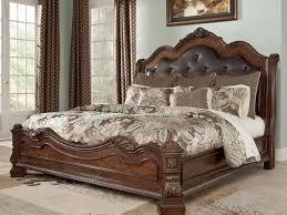 Bedroom Design Measurements King Size Black Leather Tufted King Bed Headboard For Bedroom