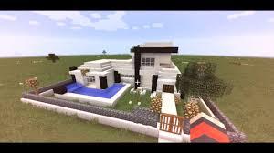 membuat rumah di minecraft cara membuat rumah modern di minecraft minecraft tutorial