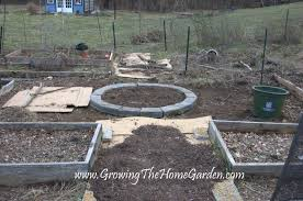 Retaining Wall Garden Bed by The Circular Raised Bed Growing The Home Garden