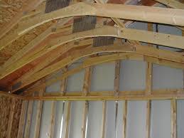 White Wash Wood Decor Truss Roof Framing Vaulted Ceiling Ideas Whitewash Wood