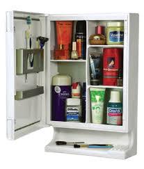 buy zahab pulse three door mirrored plastic bathroom cabinet
