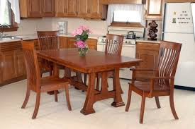 amish dining room table solid wood furniture near me dining table round self storing leaf