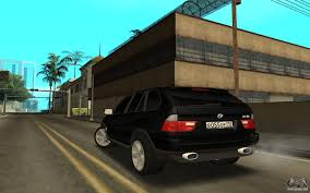 Bmw X5 61 Plate - bmw x5 for gta san andreas