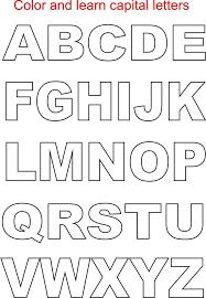 printable letters template best 25 alphabet templates ideas on
