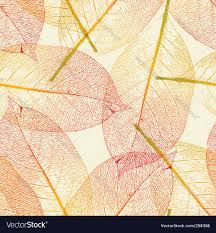 halloween fall repeating background autumn leaves pattern royalty free vector image
