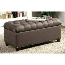 Microsuede Storage Ottoman Outstanding Microfiber Ottoman Microfiber Ottoman With Storage
