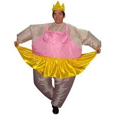 ballerina inflatable costume party suit waterproof polyester