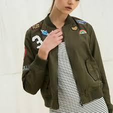 fashion army green women bomber jackets 2016 female coat flight