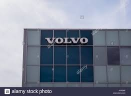 volvo logo volvo logo sign stock photo royalty free image 137494127 alamy