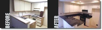 reface kitchen cabinets before and after diy cabinet refacing