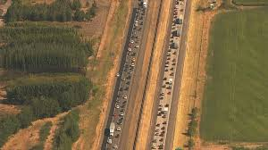 Portland Oregon Traffic Map by As Totality Ends Oregon U0027s Traffic Nightmare Begins Ktvb Com