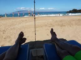 Beach Awning Kaanapali Beach Rich Ripley
