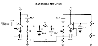ha1371 btl the integrated circuit of audio amplifier wiring