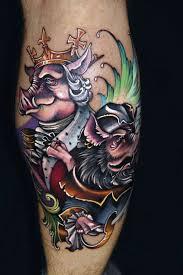 cool cartoon tattoos great cartoon pictures part 13 tattooimages biz
