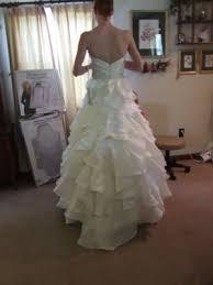 wedding dress bustle bustle for ruffle bustle exles