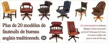 fauteuil de bureau belgique chaise de bureau en bois à chaise de bureau