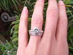 how to wear wedding ring set anyone sick of their ring weddingbee