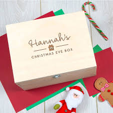 christmas boxes personalised christmas box for or by dust and