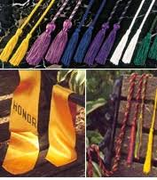 custom graduation sashes custom honor cords for graduation custom graduation stoles