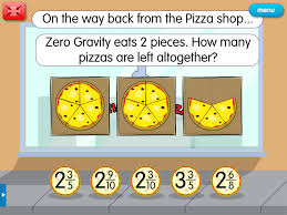 improper pizza a year 5 fractions resource for interactive