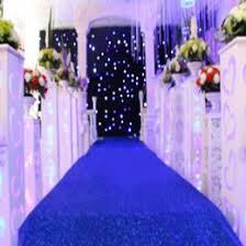 Wedding Decoration Items Manufacturers Royal Blue Aisle Runner Suppliers Best Royal Blue Aisle Runner
