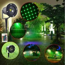 Christmas Decoration Light Projector by Outdoor Green Laser Projectors Landscape Lighting Christmas