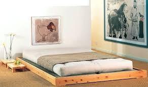 modern futon beds modern futon bed wood frame japanese style