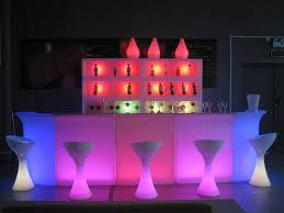 Led Outdoor Furniture - illuminated led jumbo corner bar